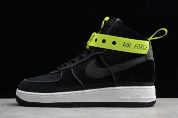 Magic Stick x Nike Air Force 1 High VIP Black Velour 573967 003