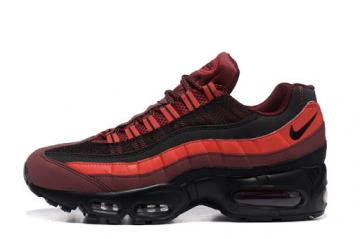 Wmns Nike Air Max 95 Essential Red Running Shoes 104220-660