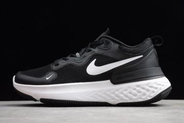 2020 Nike Epic React Flyknit 3 Black White CW1777 003
