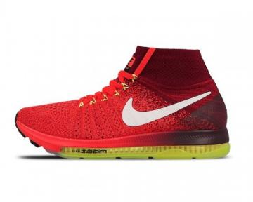 Wmns Zoom All Out Flyknit Bright Crimson White Team Red 845361-616