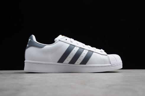 Adidas Superstar Foundation Onix Grey Gold Metallic Cloud White BY3714