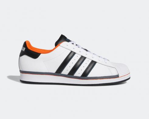 Adidas Superstar vs. Streetball Orange Cloud White Core Black FV8271