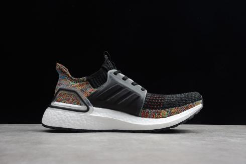 Adidas UltraBoost 2019 Yellow Core Black Cloud White Shoes B37706