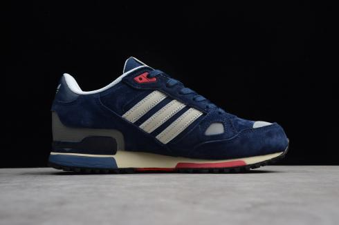 Adidas Originals ZX 750 Navy Blue Cloud White Shoes Q35065