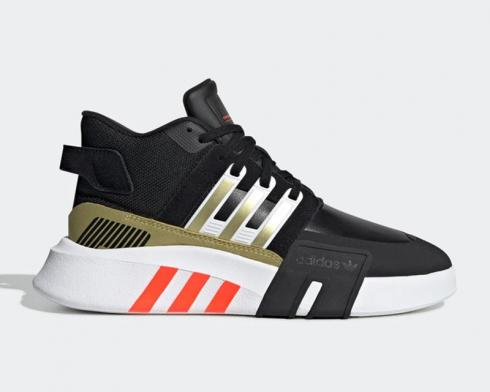 Adidas Wmns Originals EQT Bask ADV V2 Athletic White Black Gold FW5348