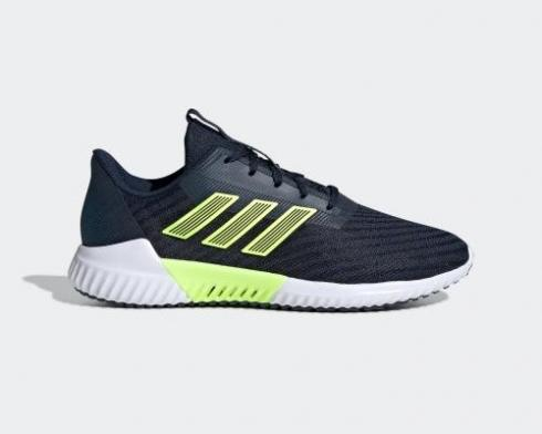 Adidas Climacool 2.0 Navy Blue Green Cloud White Running Shoes B75872