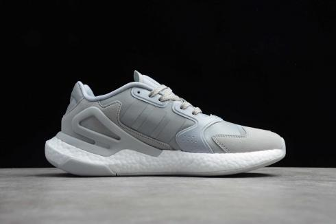 Adidas Day Jogger Cloud White Dark Grey Running Shoes FW4823