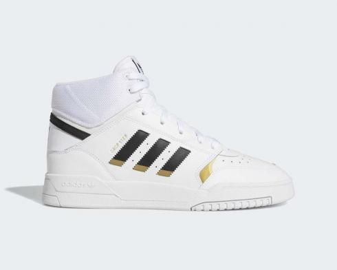 Adidas Drop Step Gold Metallic Footwear White Core Black EE5926
