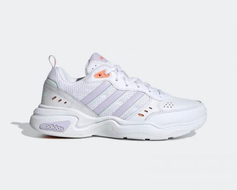 Adidas Essentials Strutter Cloud White Purple Tint Amber Tint EG8367