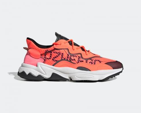 Adidas Originals Ozweego Signal Coral Core Black Cloud White EG8797