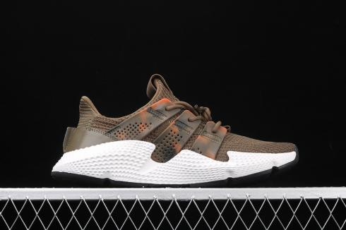 Adidas Prophere Cloud White Brown Core Black Shoes EE4736