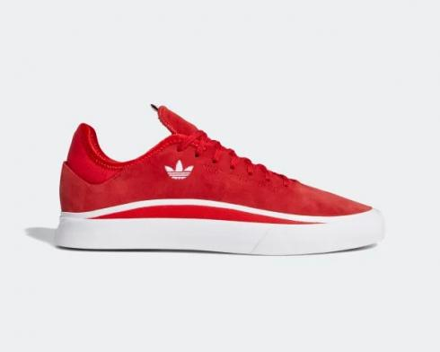 Adidas Sabalo Scarlet Cloud White University Red Shoes EE6094