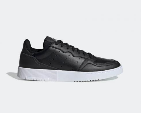 Adidas Supercourt Core Black Cloud White Casual Shoes EE6038