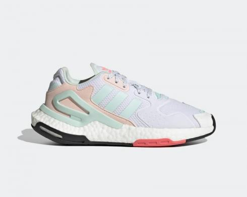 Adidas Wmns Day Jogger Footwear White Dash Green FY3018