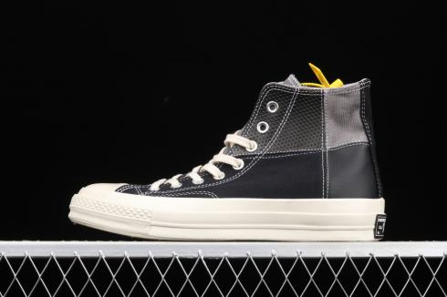 Converse Chuck 70 Mixed Material High Top Black Grey Beige 163220C