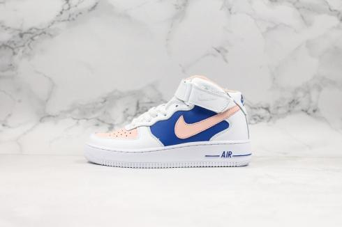 Wmns Nike Air Force 1 High YOHOOD White Blue Pink 315186-001