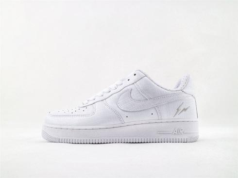Nike Air Force 1 Low HTM White Mens Winter Running Shoes 318930-111