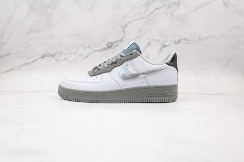 Nike Air Force 1 Low University Light Grey Silver Army DC1163-100