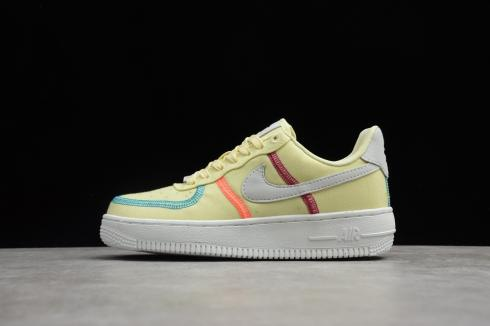 Nike Air Force 1 Low Life Lime White Yellow CK6527-700