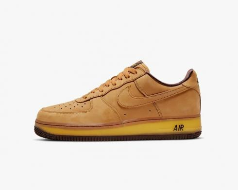 Nike Air Force 1 Low Wheat Dark Mocha Brown Running Shoes DC7504-700