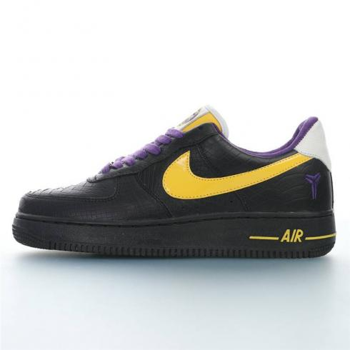 Wmns Nike Air Force 1 Low Black Mamba Mens Running Shoes 315122-824