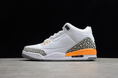 Nike Air Jordan 3 Retro Tinker NRG White Laser Orange Cement Grey DC9246-108