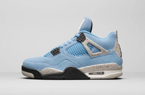 Air Jordan 4 Retro SE University Blue Tech Grey White Black CT8527-400