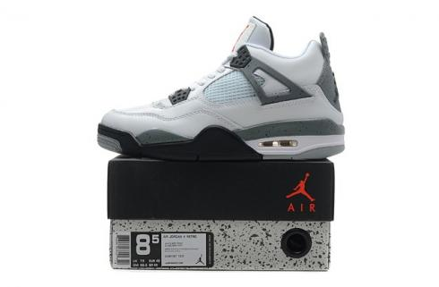 NIKE AIR JORDAN RETRO 4 IV White Cement 308497-103