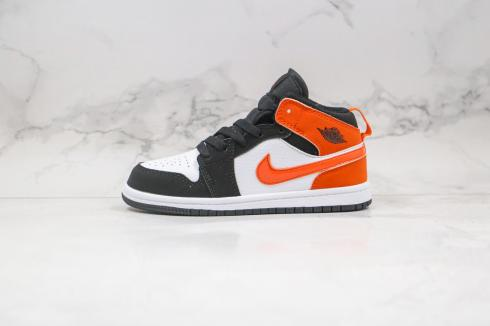 Nike Air Jordan 1 Shattered Backboard White Black Active Orange K640734-058
