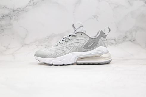 Nike Air Max 270 V2 Tech Wolf Grey White Running Shoes CD0118-600