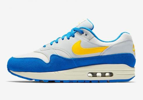 Nike Air Max 1 Signal Blue Yellow AH8145-108