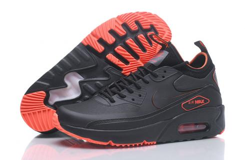NIKE AIR MAX 90 NS GPX Mid Men Shoes Black Orange