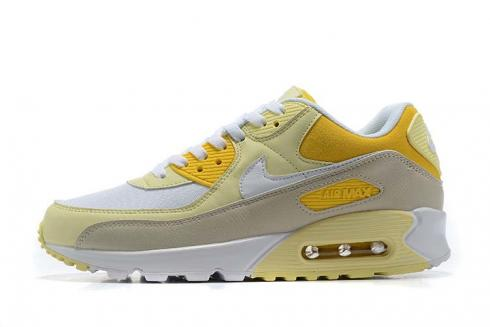 2020 New Nike Air Max 90 Recraft Lemon Yellow Running Shoes CW2654-700