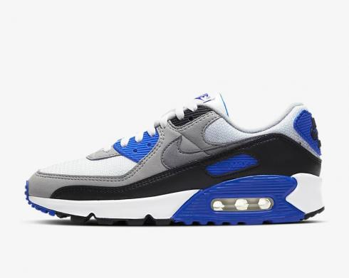 Wmns Nike Air Max 90 Royal White Black Blue CD0490-100