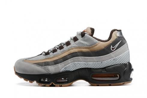 Nike Air Max 95 Essential Wolf Grey Light Brown Black 2020 New Running Shoes CV1642-001