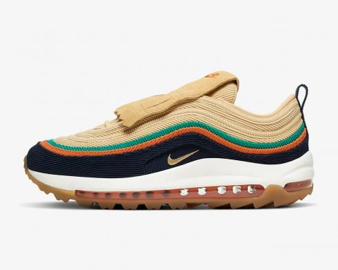 Nike Air Max 97 Golf NRG Celestial Gold Obsidian Starfish Neptune Green CJ0563-400