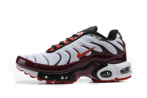 2020 New Nike Air Max Plus PRM White Purple Bordeaux Ember Running Shoes CD7061-101