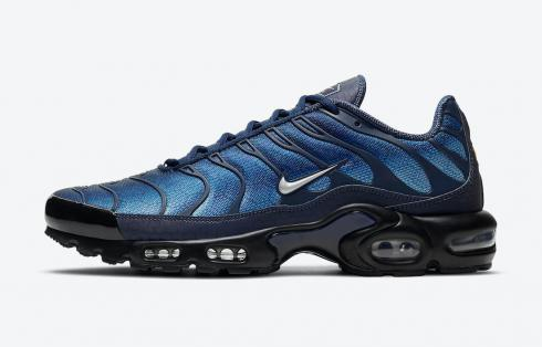 Nike Air Max Plus Midnight Navy Black Metallic Silver DC1935-400