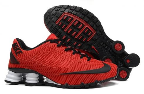 Nike Shox Turbo 21 KPU Men Shoes Sneakers University Red Black