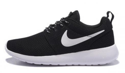 Nike Roshe Run One Black White Womens Running Shoes 511881-020