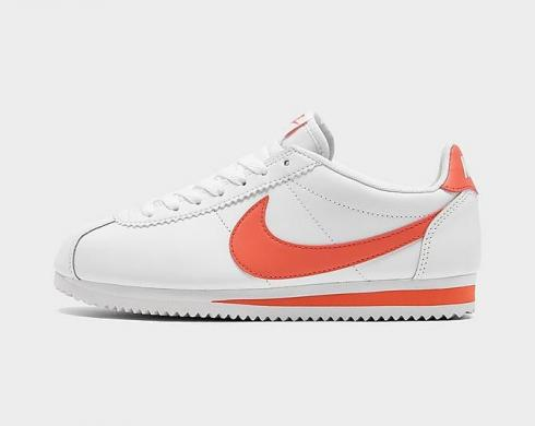 Wmns Nike Classic Cortez Leather White Magic Ember 807471-115