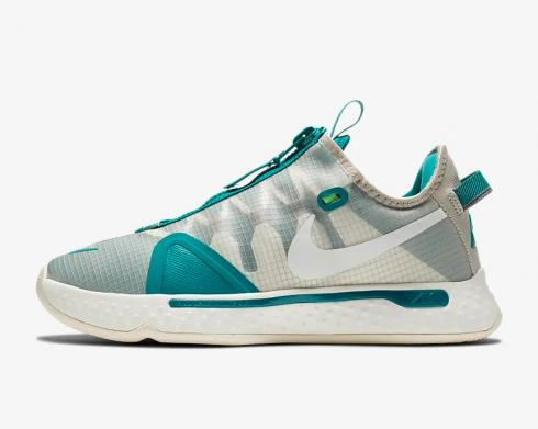 Nike PG 4 PCG Teal String Cool Grey Natural Sail CZ2240-200