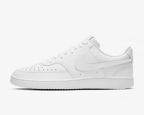 NikeCourt Vision Low Triple White Running Shoes CD5463-100