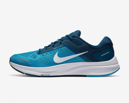Nike Air Zoom Structure 23 Laser Blue White Valerian Blue CZ6720-401