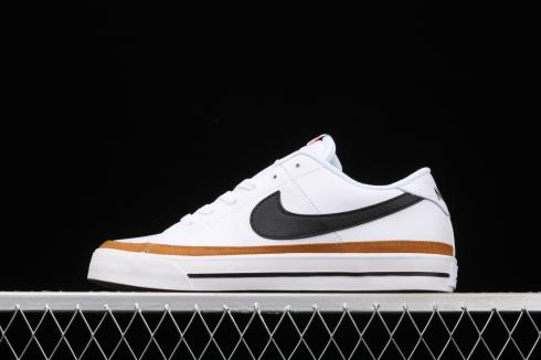 Nike Court Legacy White Desert Ochre Gum Light Brown CU4150-102