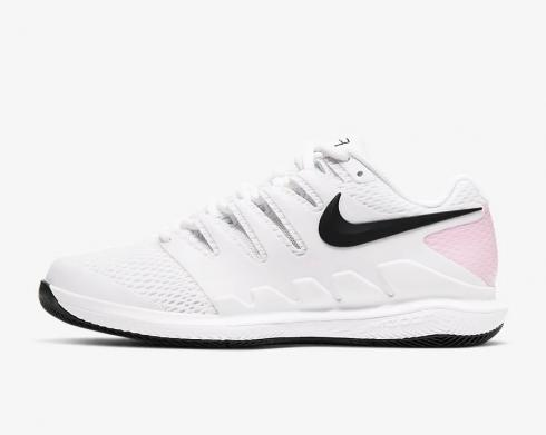 Nike Wmns Air Zoom Vapor X White Pink Foam Black AA8027-107