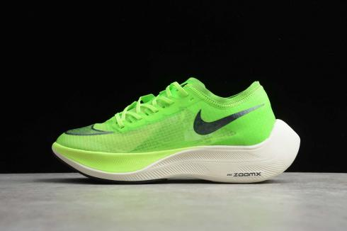 Nike ZoomX VaporFly Next% Electric Green Black Guava Ice 2020 New AO4568-300