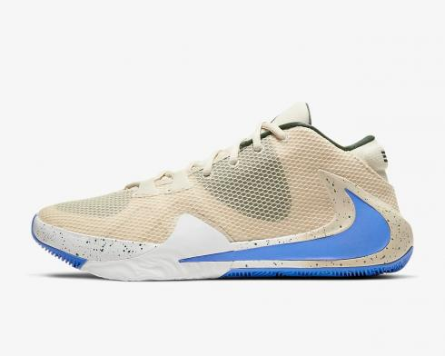 Nike Zoom Freak 1 Light Cream Pacific Blue White BQ5422-200