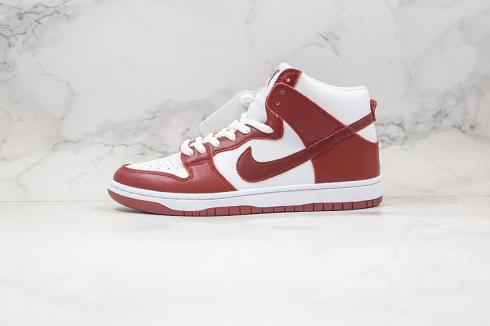Nike Dunk SB High Spectrum Sail Team Crimson White Red CV9499-022