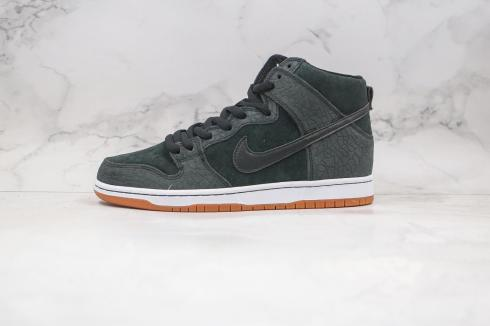 Nike SB Dunk High Pro Entourage Black Gum Light Brown 313171-065